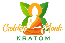 golden monk kratom logo