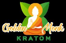 golden monk kratom logo